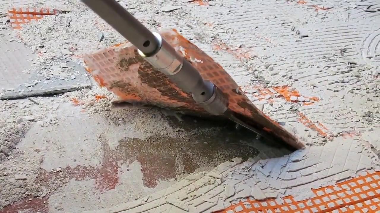 comment enlever ciment colle sur du carrelage