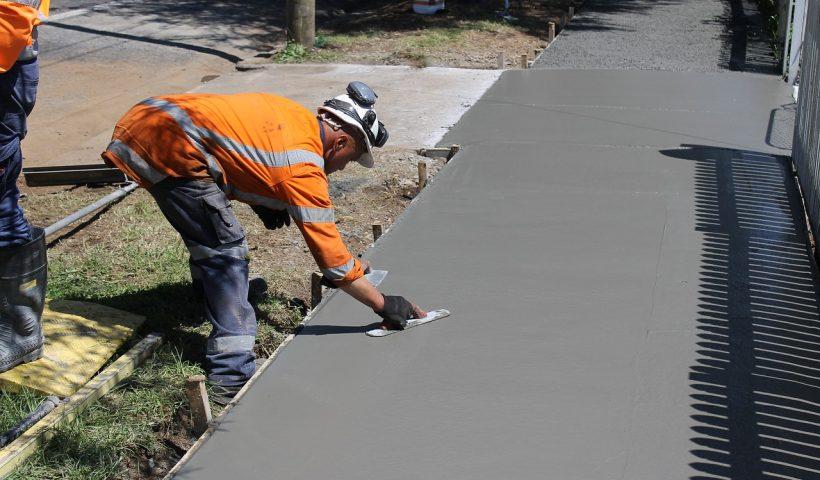 pose carrelage dalle beton