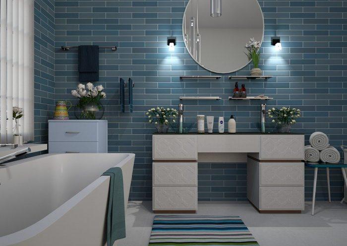 recouvrir carrelage salle de bain